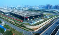 An aerial shot of one of SANYs impressive facilities in China